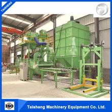 steel tube shot blasting machine main structure and characteristics