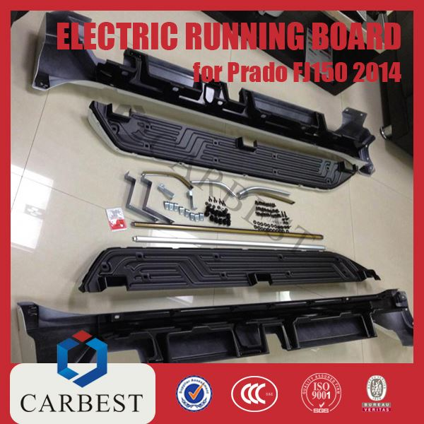 High Quality Electric Aluminium Running Board Side Step for Prado FJ150 14-15