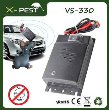 X-pest VS-330 eco-friendly car ultrasonic mouse pest repeller,auto insect repellent