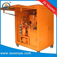High efficiency double stage transformer oil purifier device