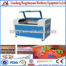 hot sale co2 laser cutting engraver machine for garment industry
