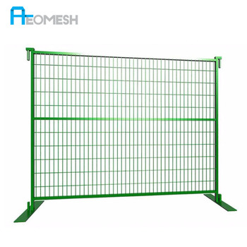 Galvanized Wire Outdoor Canada Temporary Fence,Temporary Construction Fence