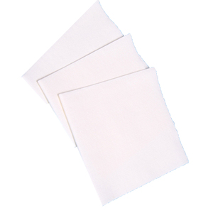 1/4 folded spunlace nonwoven woodpulp/polyetser lint free cleaning wipes