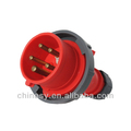 High quality industrial socket and plug 16A-6H/220/380-240/415V,3P+N+E,IP67,splashproof