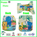 happy flute baby cloth diaper washable reusable diaper custom position print