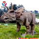 Indoor&Outdoor Life-sized moving attractive Triceratops animatronics animatronics robot dinosaurs for sale