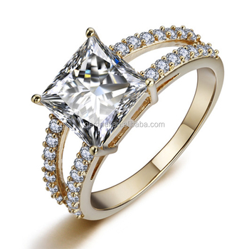 Gemnel jewelry hot selling latest gold ring designs for girls wedding ring smart ring