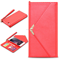 2016 hotest universal envelope case with card slot pu leather envelope flip case for iphone6 plus 5.5inches