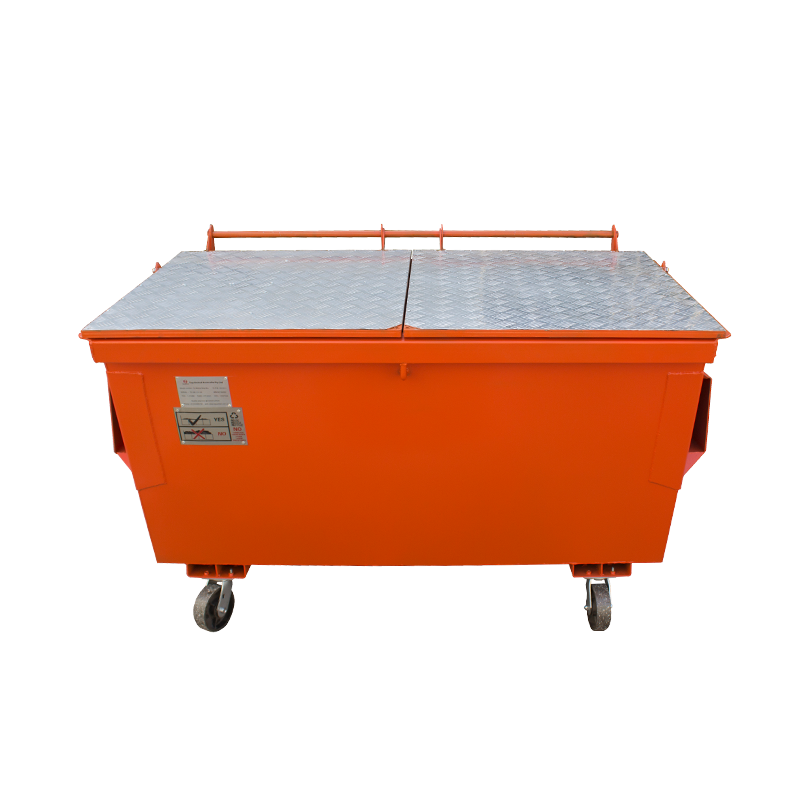 Australian New Zealand standard waste skip bin