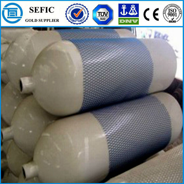 Carbon Composite Cylinder Seamless Steel CNG Gas Tank