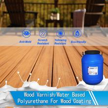 Trade assurance Matt water based polyurethane wood paint (PU-105C)