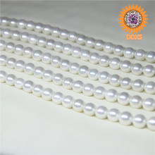 Natural white Mother Of Shell Pearls AAA+Grade Round Pearls