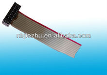 2.54mm ribbon cable connector 64 pin ul2651 28awg ffc flat ribbon cable