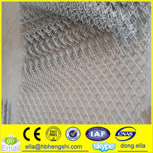 Galvanized Chain Link Wire Mesh Fence