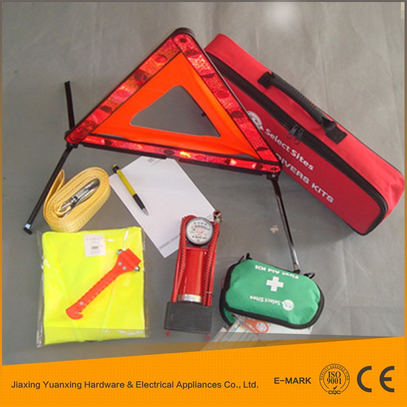 Customized Car Tool Set , Car Emergency Kit