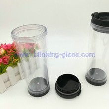 Double wall acrylic tumbler with paper insert