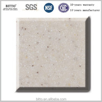 acrylic resin solid surface artificial stone for kitchen countertop surfaces