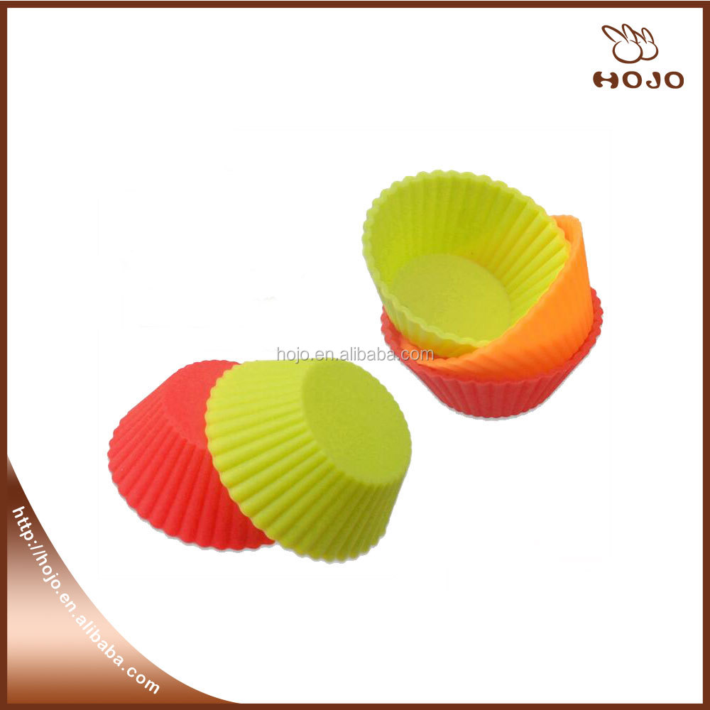 Hot sell mini baking Silicone muffin cake cup