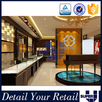 Famous Brand Retail Store High Grade Jewelry Decoration Shop Jewelry Shop Furniture