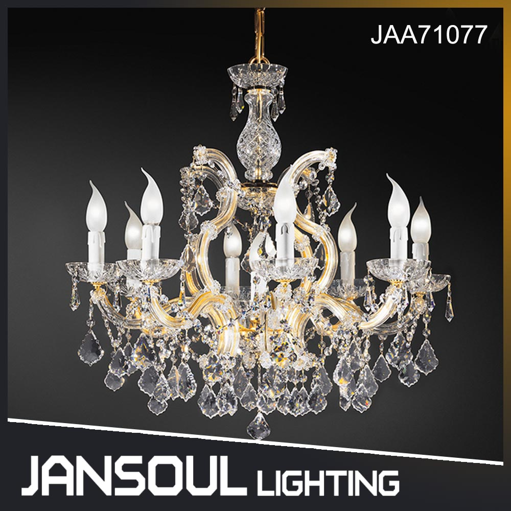 Hot Sale Factory Price UL Listed 9-lights Glass Chandelier