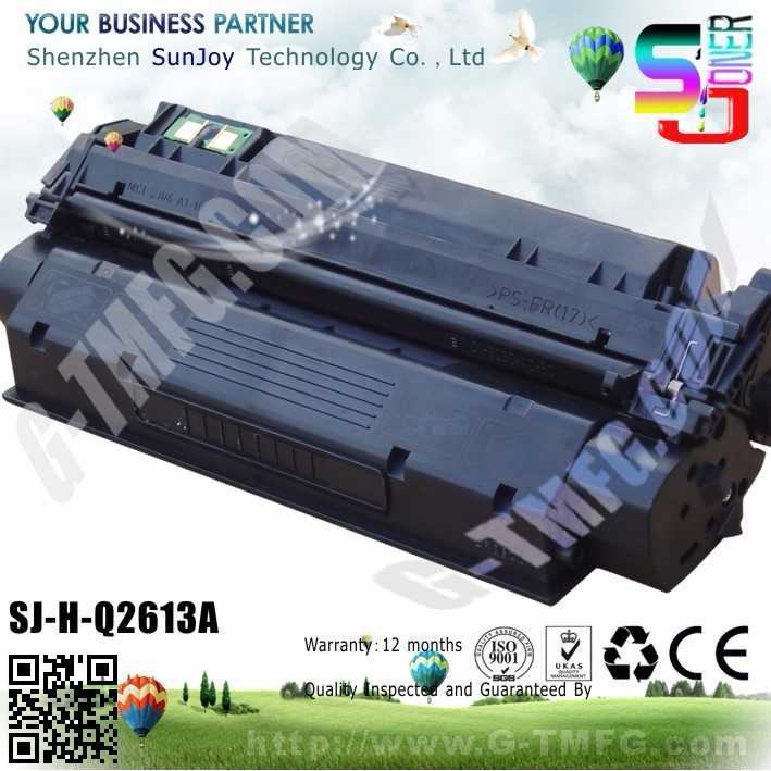 Sunjoy New compatible color 13A Toner CartridgeQ2613A for HP Laserjet 1300