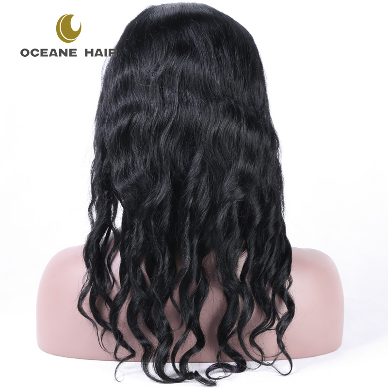 Top quality glueless full lace 100% brazilian human hair wigs styles pictures