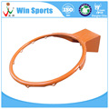 sell orange steel material 12 hoops basketball hoop