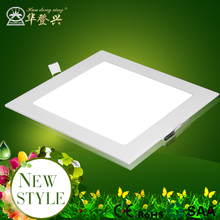 Cool white Warm White Light square panel light 12w 15w 18w 24w dimmable white led suspended ceiling light panel