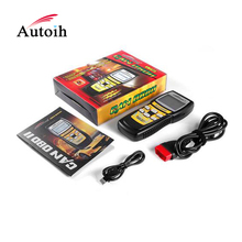 Reliable and Good EOBD Fault Code Reader motorcycle scanner tool with LCD Screen