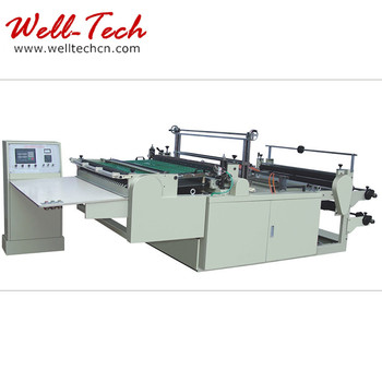 plastic mail bag manufacturing machine
