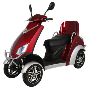 eWheels Electric 4-Wheel Mobility Scooter 350lbs Speed 25mph Range 45 miles
