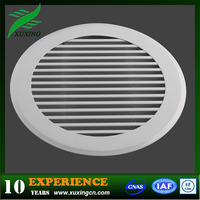 Removable aluminum hvac linear round grilles or diffuser (hot sales)