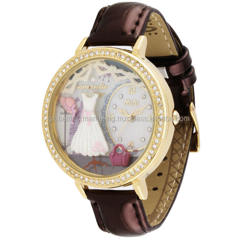 Ceramic Designer Lady Watch