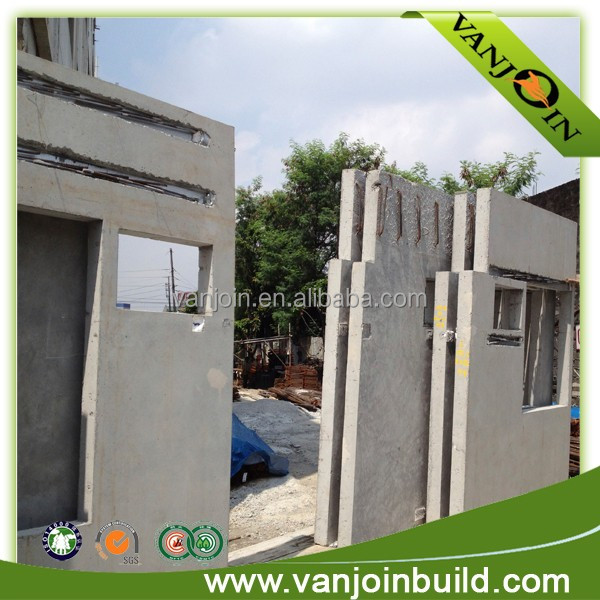 Fast erection fireproof recyclable temporary wall panels