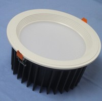 10 inch 5630 SMD LED Downlight, 53W, Korean LG 5630 LED, CRI>80, 5700K,5000K,4000K,3000K,2700K, SAA & C-Tick certified driver