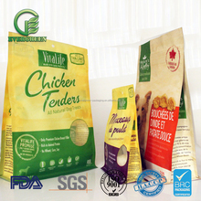 Big packaging plastic bag of pet food product supplies