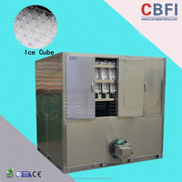 China industrial cube ice making machine hot