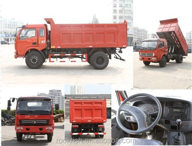 Good price 6 wheel small standard dump truck dimensions for sale