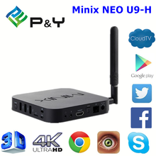 Factory price Minix NEO U9-H S912 2G 16G mini tv box with good quality Android 6.0 TV Box