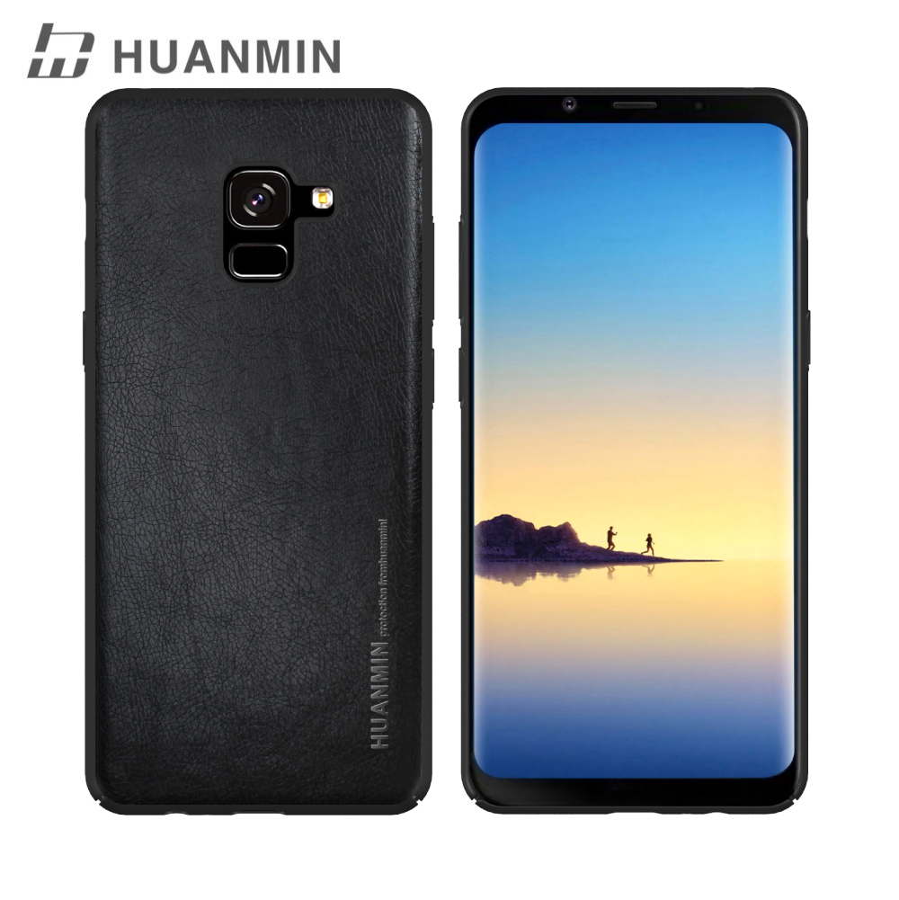 China Light Weight Plastic Cell Mobile Phone Case For Samsung A8+ 2018, For Samsusng A7 2018