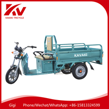 2017 KAVAKI brand 900W60V powerful three wheel adult electric cargo motorcycle for sale