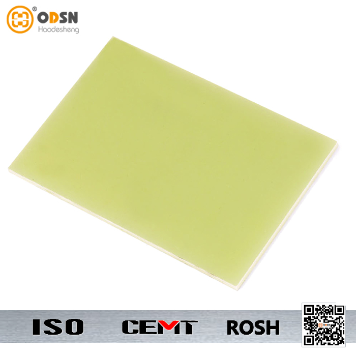 Good moisture resistance glass epoxy sheet green
