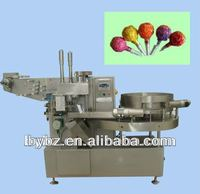 YB-350 automatic Strawberry lollypops Fruit Flavor lollipop packing &wrapping machine