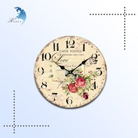 free design eco-friendly printed bamboo home decoration clock