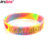 Hot sales silicon wristband promotion bulk rubber wristband