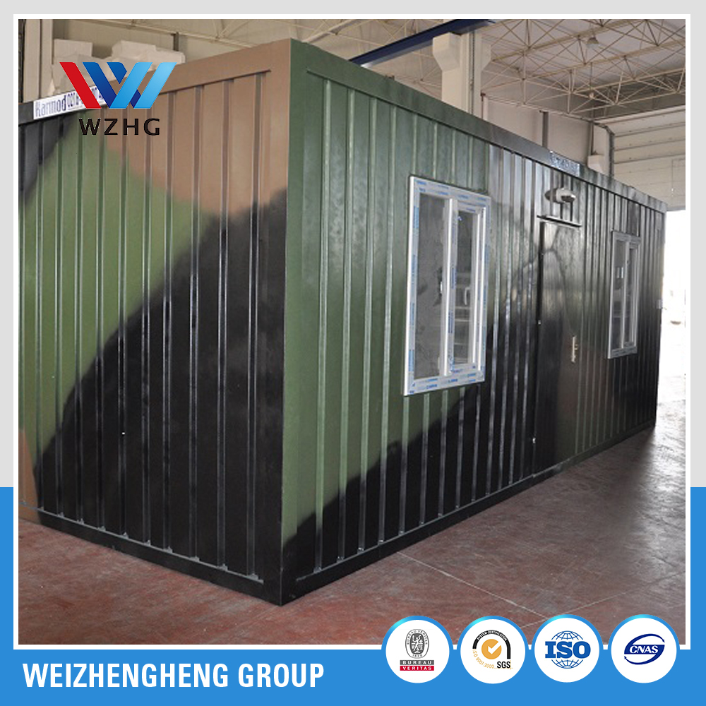 prefabricated temporary container house office ,container home