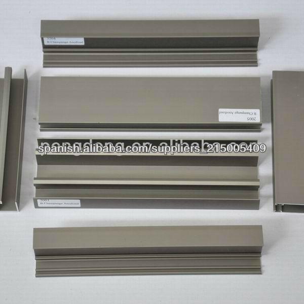 Perfiles de aluminio para ventana y puerta materiales para for Fabrica de puertas de aluminio