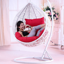 outdoor patio round wicker hanging chair