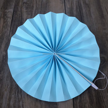Round Paper Fan Wedding Decoration Hanging Paper Fan