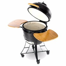 "2018 high quality 24""ceramic kamado smoker charcoal bbq"